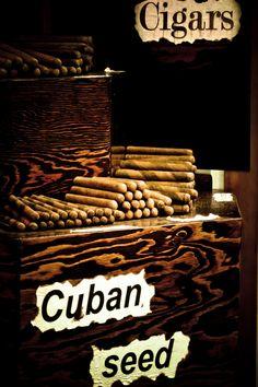 Como el tabaco de Cuba no hay...