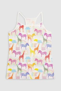 Buy Multi Animal Cami Three Pack (3-16yrs) from the Next UK online shop