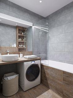 Bathroom Design Layout, Modern Bathroom Design, Bathroom Interior Design, Home Interior, Relaxing Bathroom, Small Bathroom, Ikea Decor, Minimalist Bathroom, Home Remodeling