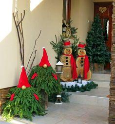 Christmas Wreaths, Christmas Ornaments, Christmas Ideas, Gnomes, Ladder Decor, Advent, Diy And Crafts, Holiday Decor, Home Decor