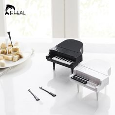 FHEAL 10pcs/set Creative Piano Modeling Fruit Fork Eco friendly ABS Easy Decoration Kitchen Bar Kids Dessert Forks Tableware-in Forks from Home & Garden on Aliexpress.com | Alibaba Group