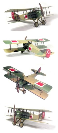 1/32 Hobbycraft Spad XIII C1 in Turkish Independence War by Özkan Türker http://www.arcair.com/Gal8/7801-7900/gal7834-Spad-Turker/00.shtm