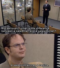The world according to Dwight…