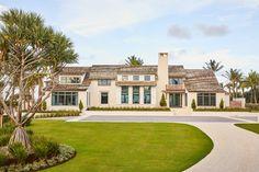 Beach House - Thomas Melhorn Plaster Walls, Front Entrances, Step Inside, Next At Home, Coastal Living, House Tours, Beach House, Exterior, Architecture