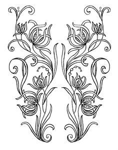 Risultati immagini per embroidery patterns