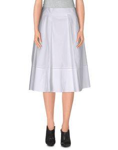 SALVATORE FERRAGAMO Knee Length Skirt. #salvatoreferragamo #cloth #skirt