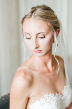 Photography by New York Photographer Nicole Gatto. Bun Hairstyles For Long Hair, Braided Hairstyles For Wedding, Bride Hairstyles, Bridal Hair And Makeup, Bride Makeup, Hair Makeup, Wedding Lipstick, Wedding Curls, Romantic Makeup