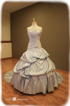 Blue Cinderella Dress