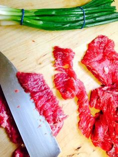 Attack Phase Mongolian Beef Flank Steak Green Onion Ginger Garlic Soy