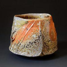 yunomi and guinomi — akira satake ceramics Slab Pottery, Pottery Vase, Ceramic Pottery, Pottery Sculpture, Sculpture Clay, Ceramic Sculptures, Japanese Ceramics, Japanese Pottery, Ceramic Clay