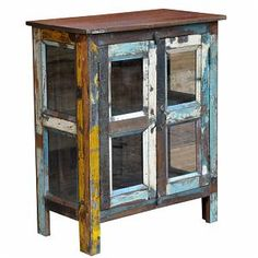 "View our new ""India recycled wood products"" in our category area Crate Furniture, Furniture Repair, Refurbished Furniture, Home Furniture, Recycled Furniture, Painted Furniture, Chest Dresser, Dressers, Unfinished Wood Furniture"