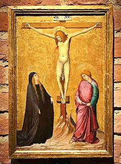 Stabat Mater dolorosa Iuxta Crucem lacrymosa Dum pendebat Filius.  Ambrogio Lorenzetti, c. 1320
