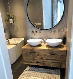 The bathroom is crucial to the livability of a home. If a bathroom doesn't function well, it can be a source of stress and discomfort. Furthermore, the bathroom more than any other room is susceptible to change as your family changes. Bathroom Inspo, Bathroom Interior, Bathroom Inspiration, Bathroom Ideas, Bathroom Remodeling, Bad Inspiration, Small Bathroom, Wc Bathroom, Waterworks Bathroom