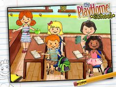 My Playhome School by My Playhome Software - Review @ The iMums