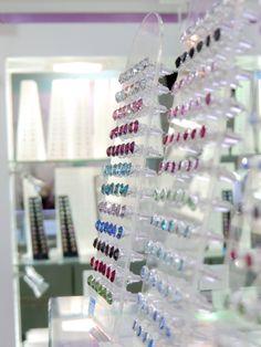La Crystale Ear Studs, Crystals from Swarovski  #crystal #crystals #swarovski #eartuds #earrings #silver #sterlingsilver #silverearrings #silverearstuds #silverjewelry #wholesalejewelry #wholesalesilverjewelry #elf925 #bangkok #thailand