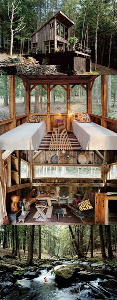 Off-Grid Tiny House Made from 100-Year Old Reclaim…