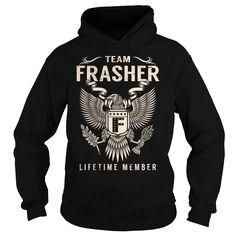 Team FRASHER Lifetime Member - Last Name, Surname T-Shirt