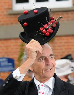 Outrageous hats Royal Ascot