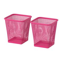 IKEA - DOKUMENT, Pencil cup, pink, , Rubber feet underneath protect the surface below from scratches and make the pen holder stand steady. Pink Office, Office Set, Ikea Office, Office Supply Organization, Binder Organization, Pencil Holder, Pen Holders, Modern Office Desk, Rustic Office