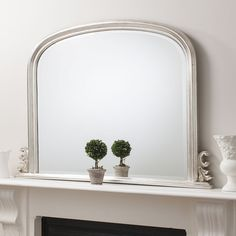 Gallery Direct Thornby Mirror - Silver