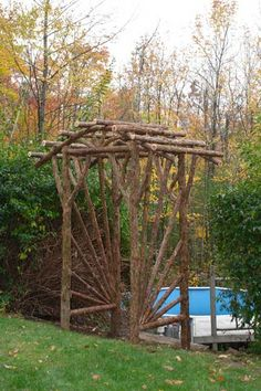 Best Rustic arbor ideas on