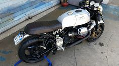 Moto Guzzi V11 Cafe Racer by Brus Industry #motorcycles #caferacer #motos | caferacerpasion.com