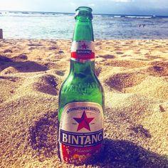 Just enjoying the local beer. #bintang #beer #corona #bali #beachlife #wanderlust