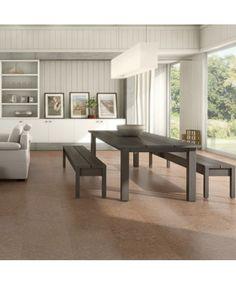 Tolles Raumklima mit #Kork - #Korkboden für nur 46,90€/m² → Haro Corkett Korkboden | Sagres - maron - Kork
