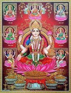 Prints, Posters & Paintings, Hinduism, Religion & Spirituality, Collectibles Page 31 Lakshmi Photos, Lakshmi Images, Indian Goddess, Goddess Lakshmi, Hindu Deities, Hinduism, Avatar Poster, Diwali Pooja, Framed Art Prints