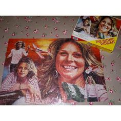 The Bionic Woman jigsaw puzzle (any jigsaw helps spatial ability)