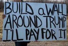 Funniest Donald Trump Memes: Build A Wall Around Trump