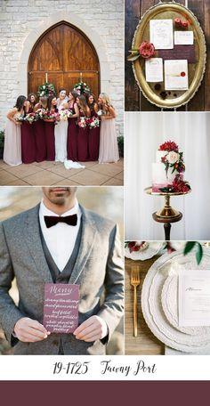 Tawny Port - Pantone Fall 2017 Wedding Colour