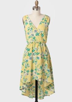 Bridgetown+Floral+High-low+Dress+at+#Ruche+@mimi ヾ(^∇^)