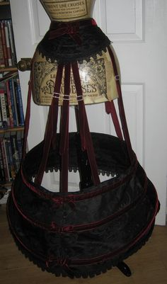 Wyte Phantom 1862 hoop skirt civil war era