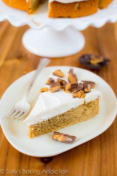 Fluffernutter Cake.