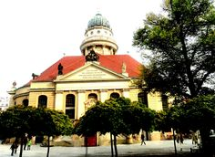 Concert Hall in the center of Gendarmenmarkt Square - former French sector - Berlin, Germany