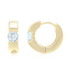 Boucles+d'oreilles+en+argent+et+Topaze+bleu+ciel+-+un+bijou+à+la+conception+exceptionnelle,+disponible+en+exclusivité+chez+Juwelo.+Avec+certificat+d'authenticité.