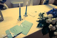 Wedding candles Indoor Wedding ceremony