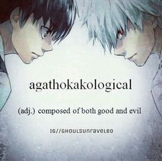 I am composed of both good and evil