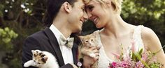 Here's The Cutest, Cuddliest Kitty-Themed Wedding That You'll Ever See - I'm tempted to renew my vows just to do this.