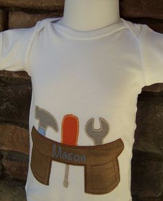 Personalized Baby Boy Onesie tm bodysuit  by jennifernoeldesigns, $20.00