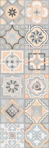 EVIA: Celsa Gris - 25x75cm. | Revestimiento - Pasta Blanca | VIVES Azulejos y Gres S.A. Diseño hidráulico estilo #vintage #tile #interiordesign #design