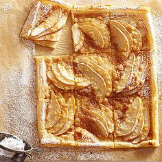 Puff pastry's flaky crust is similar to handmade pastries traditional to French tarts or galettes.