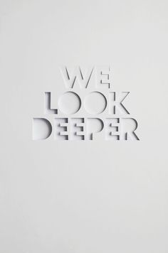 We Look Deeper - Bianca Chang