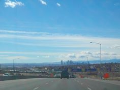 Denver,Colorado--not what I expected. After leaving a blizzard in Wyoming and not going through a pass, the temps in the 50's and little snow except for the mountains