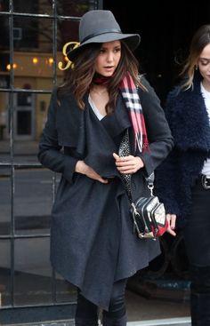 3/15/16 - Nina Dobrev out in NYC.