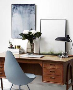 """""""Smukke nyheder fra Trine Holbaek Designs er nu online. Bl.a. disse to prints - Pure Blue og Pure Green #design #designfavoritter #designfavoritter_dk…"""""""