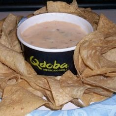 Qdoba Queso Dip and other qdoba recipes (cilantro lime rice) - i think i've struck gold with this one