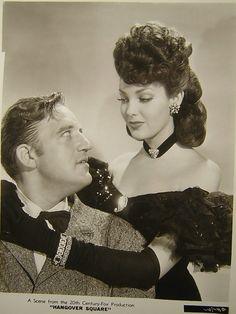 Linda Darnell & Liard Cregar. Hangover Square