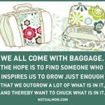 How to rid your life of excess baggage!